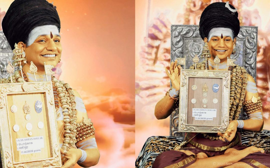 The Supreme Pontiff of SHRIKAILASA releases the Reserve Bank of Kailasa and its currencies